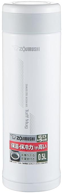 ZOJIRUSHI象印SM-AFE50-WB不锈钢真空保温杯500ml ¥121.95