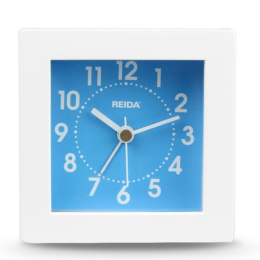 简约创意时尚方形木制现代桌钟座钟