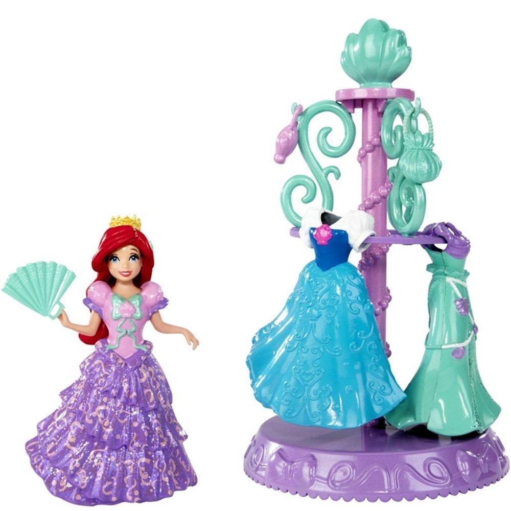 迪士尼芭比娃娃公主系列 洗澡换衣玩具 13视频图片