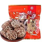 绿帝 花菇250g/袋 精选香菇蘑菇干 湖北神农架特产干货-图片