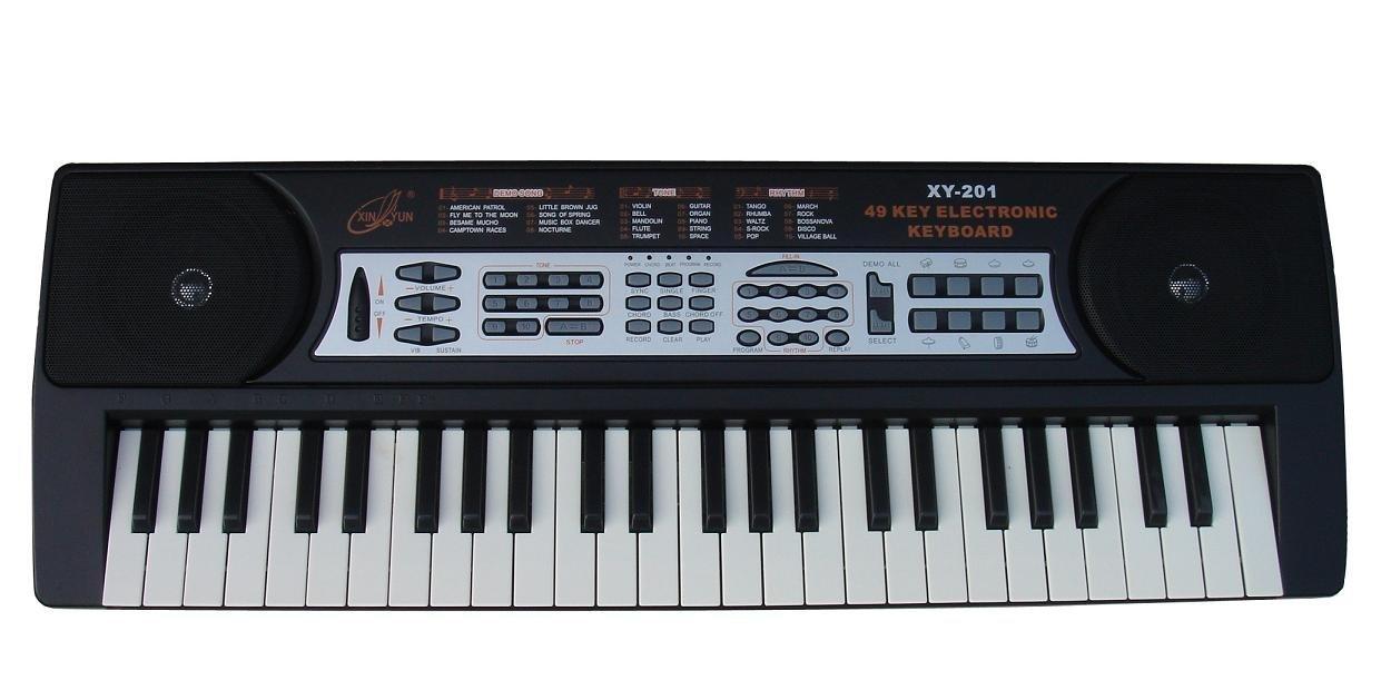 xinyun 新韵 xy-201 49键电子琴 黑色图片