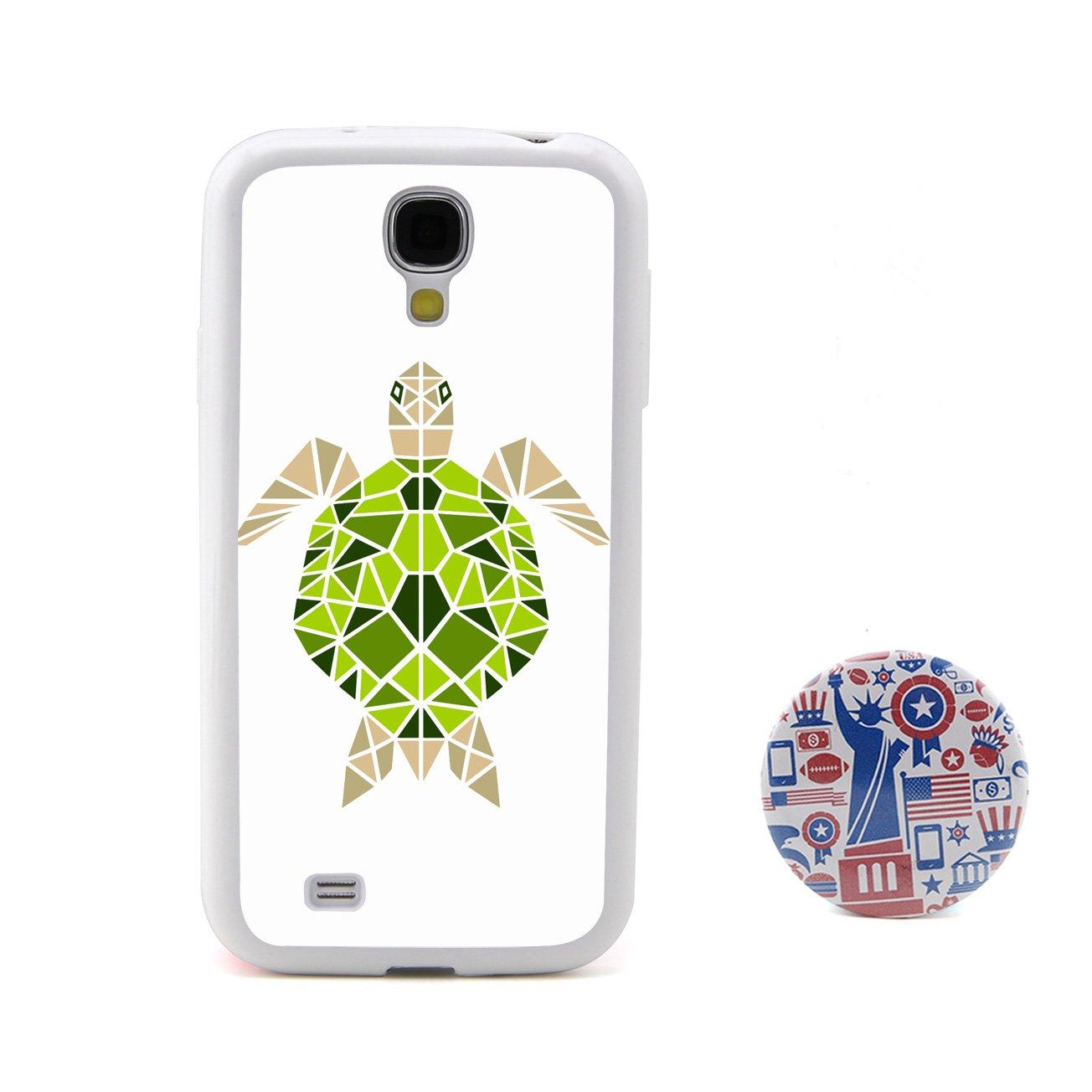 乌龟3d多边形动物头像浮雕设计风格 塑料 tpu手机壳 手机套 适用于