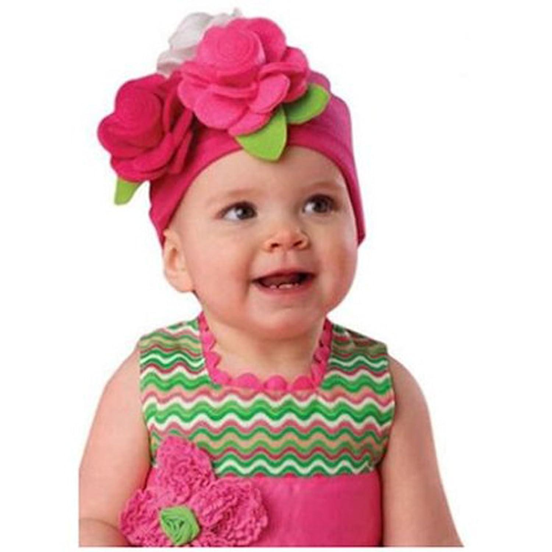 欧美春秋女童可爱超潮套头帽 婴儿帽 圣诞帽 针织帽 头饰 帽子 可爱