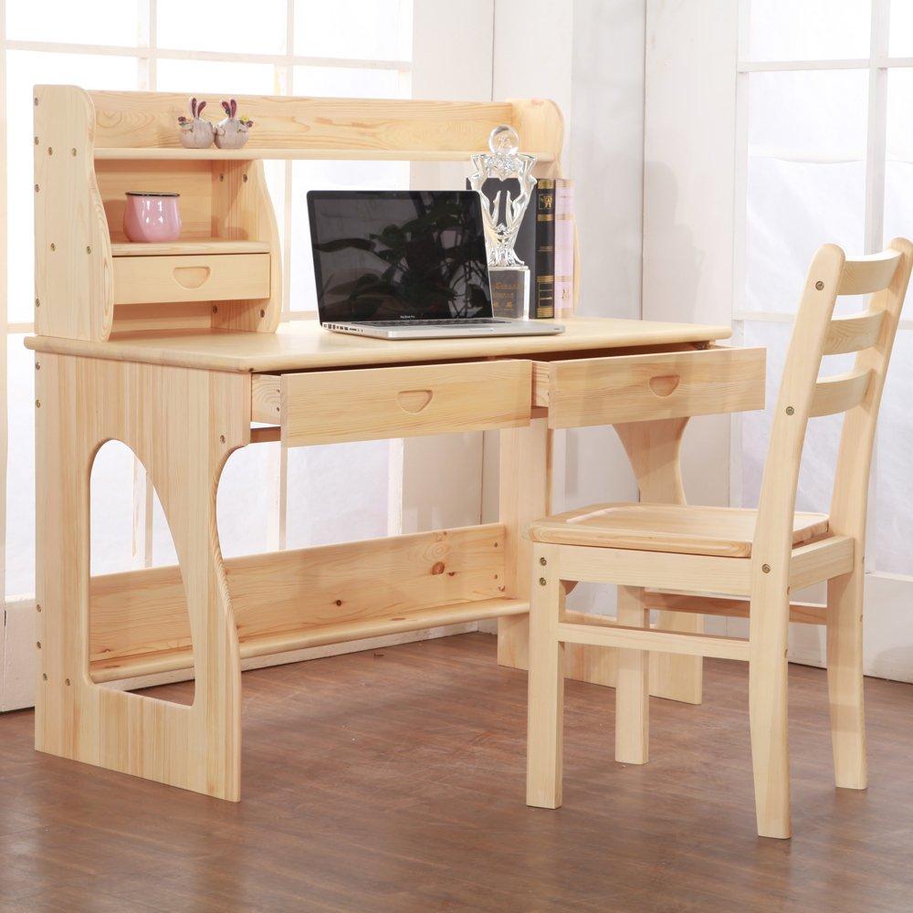 全实木儿童学习桌实木电脑桌