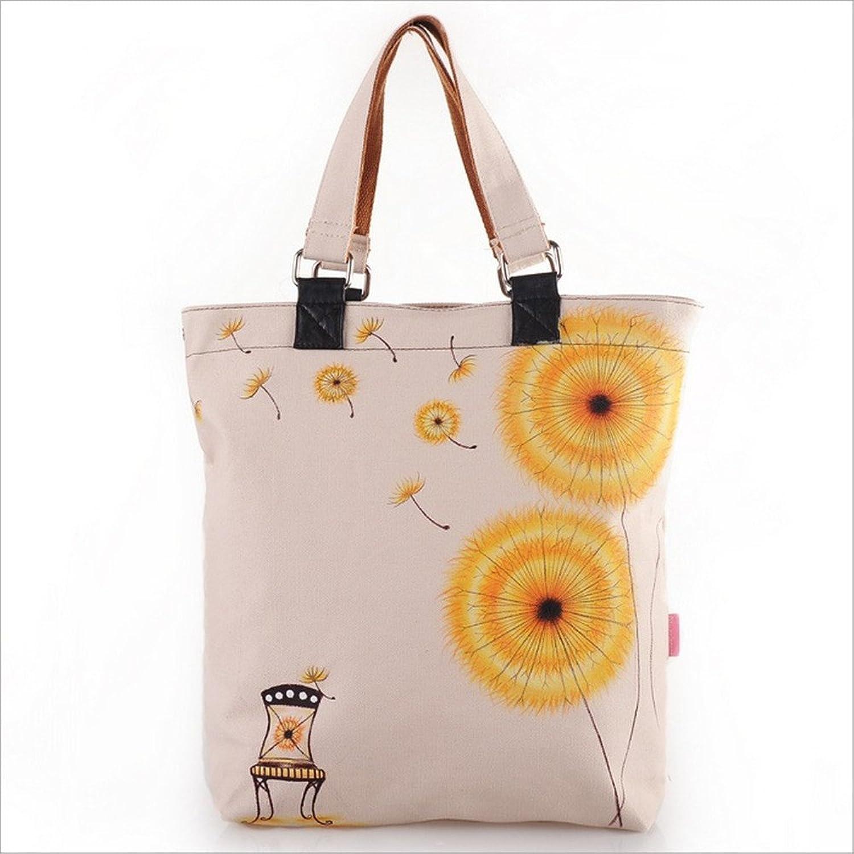 时尚手提包 白领包 手绘包 蒲公英 唯美插画手绘包包 f-k 005