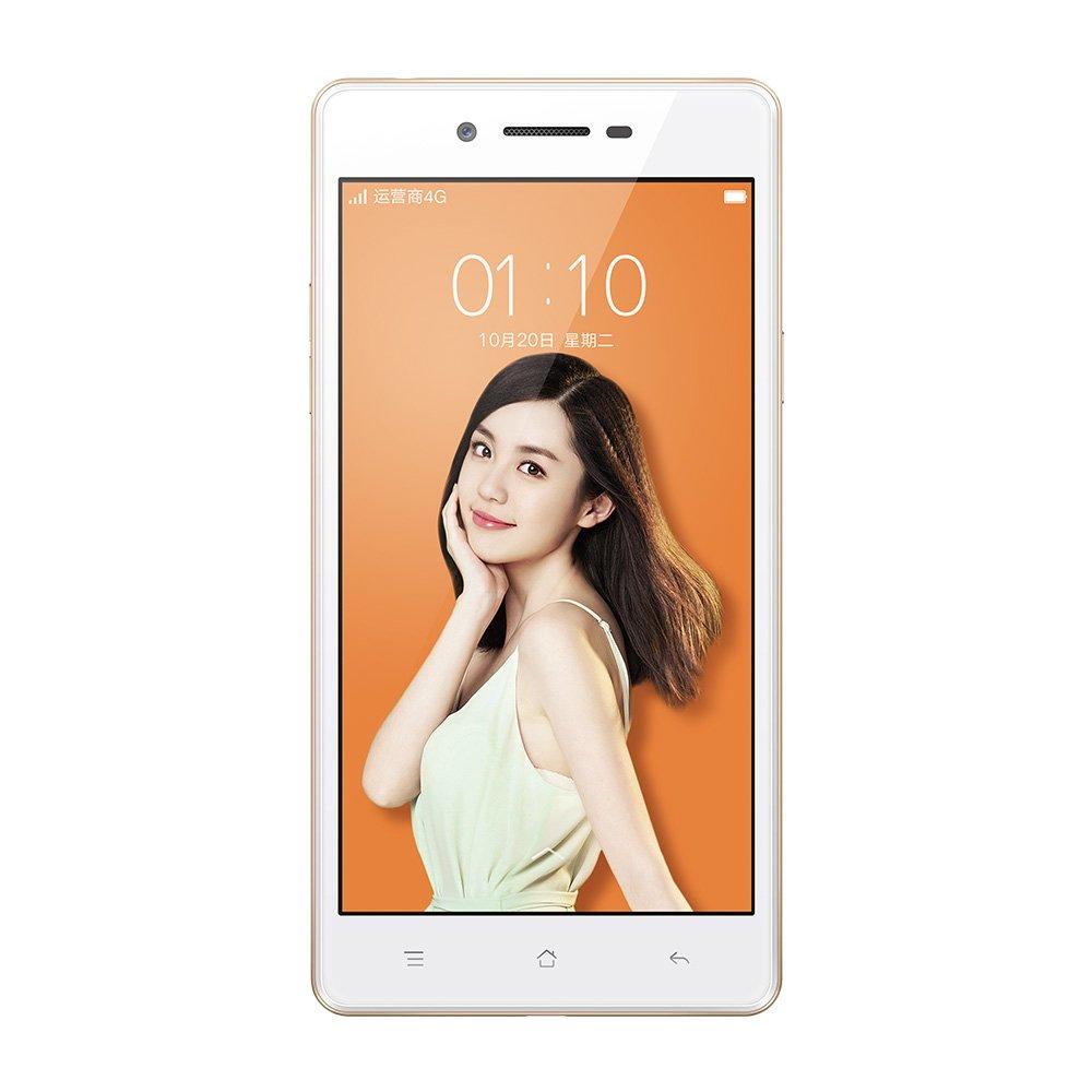 OPPO A33 移动版 TD-LTE/TD-SCDMA/GSM 4G Android 高颜值拍照手机 5吋高清大屏 高通四核处理器 2GB RAM+16GB ROM 800+500万摄像头 2400mAh大容量电池 (白色): 手机/通讯