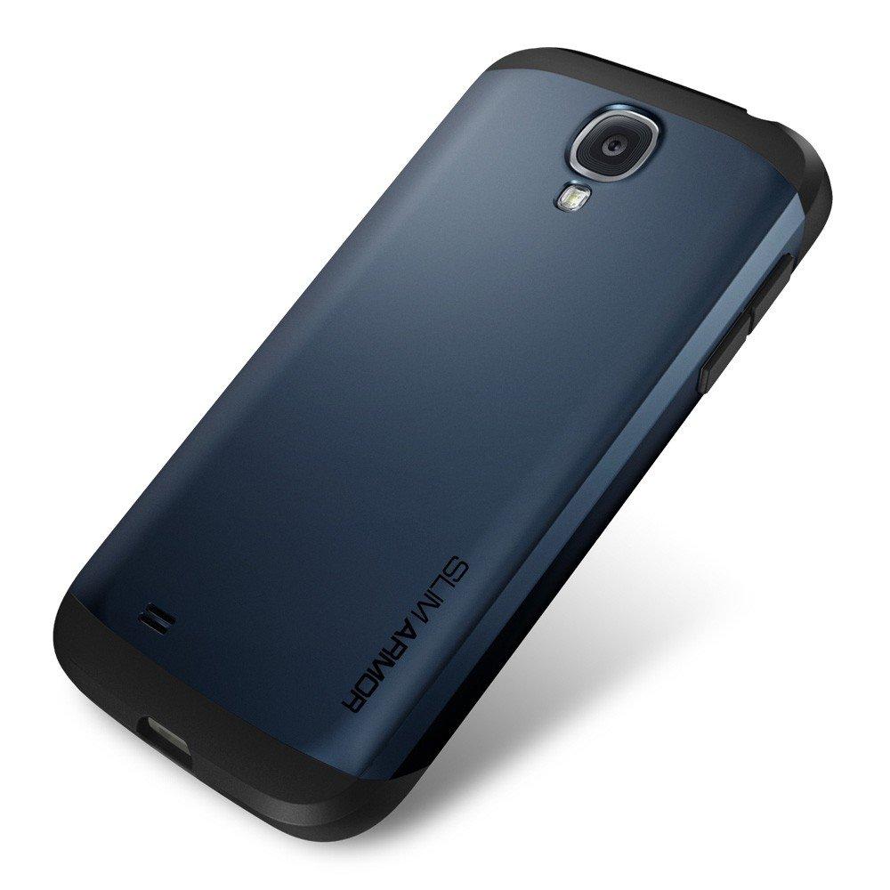 sgp三星galaxy s4手机壳i9500保护套i959 i9502盔甲外壳 (藏青色)