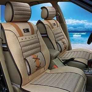 麻四季垫大众现代ix35世嘉三厢帕萨特别克通用汽车坐垫 灰色高清图片