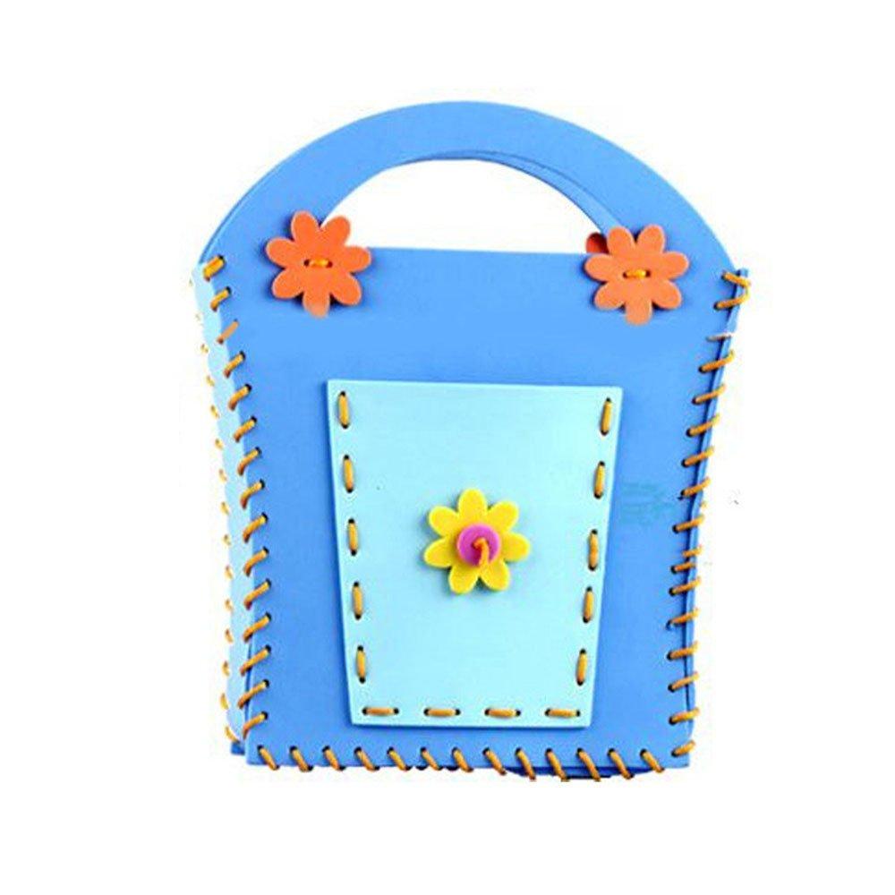 海鲸eva手工包diy儿童制作包包挎包幼儿园手工缝制立体贴画益智手工