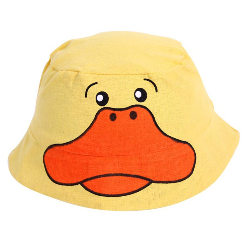 大贸商 棉帽 动物帽子 鸭子棉布盆帽