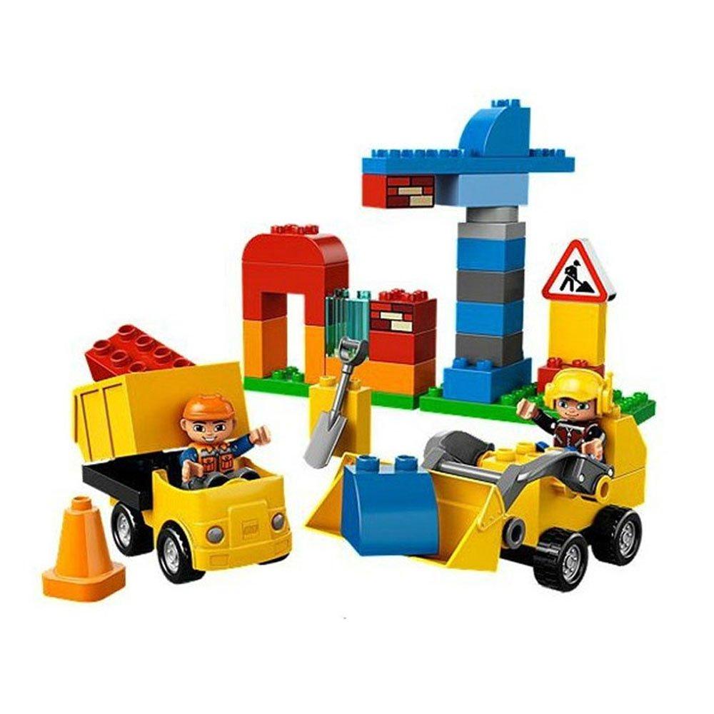 lego乐高我的拼接颗粒大套装得宝系列益智早教建筑视频教程玩具图片