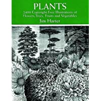 Plants: 2,400 Copyright-Free Illustrations of Flowers, Trees, Fruits and Vegetables
