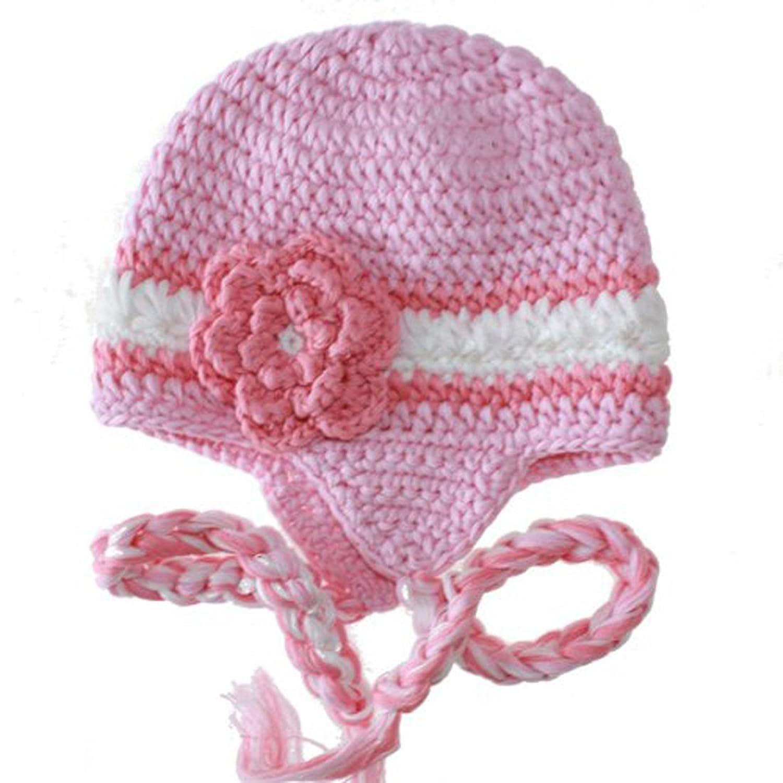 欧美风全棉时尚手工婴儿编织帽子 手钩婴儿童帽 棉线帽子 小孩宝宝