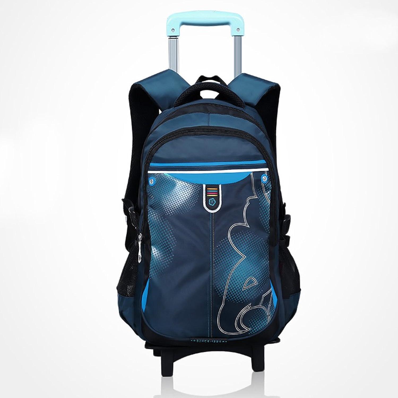 阳光8点儿童书包可爱韩版男女小学生双肩背包拉杆箱拉杆书包878蓝色图片