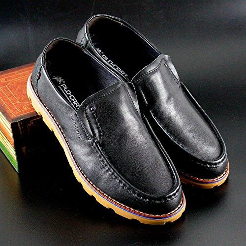 PLO·CART保罗盖帝男鞋 男士日常休闲皮鞋11313703-1