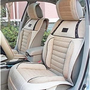 雅莱 亚麻汽车坐垫四季垫长安CX20 CX30悦翔 V5 MG3V3菱悦长城高清图片