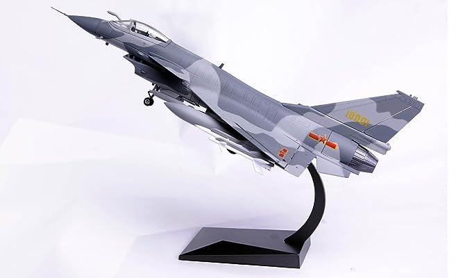 飞机模型 航空合金 1:48歼10战斗机