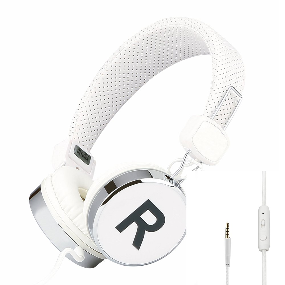 头戴式 mp3/手机/平板/单孔电脑语音耳麦 手机线控/带话筒/音量调节