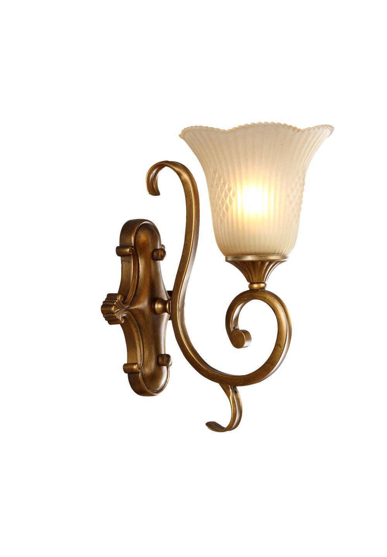 欧式壁灯客厅电视墙壁灯床头灯镜前过道阳台灯 直径23cm 高度28cm