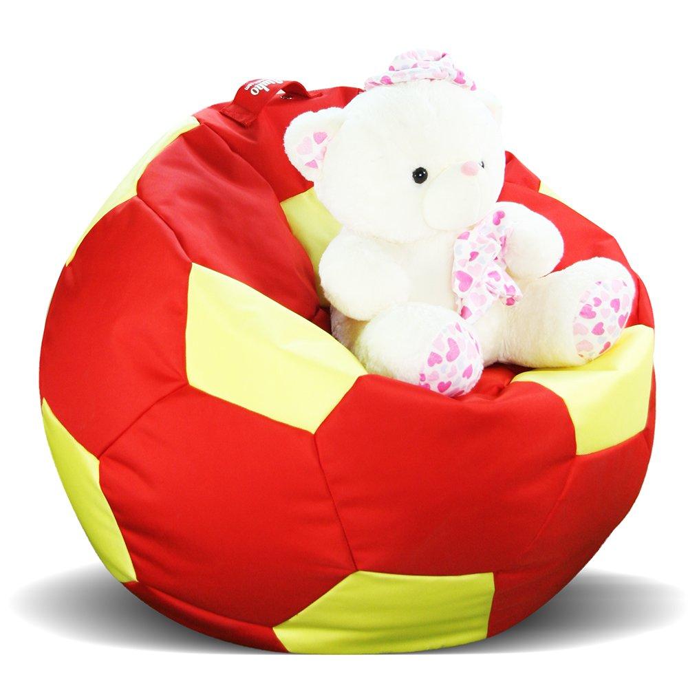 爱优活 软个性创意足球单人懒人沙发 可爱儿童豆袋布艺大沙发 直径100