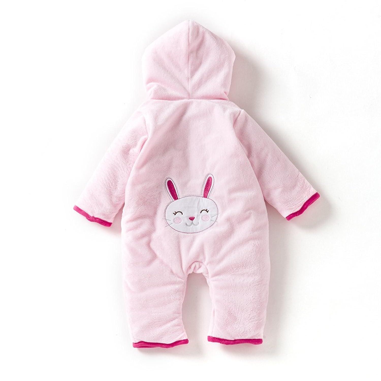 男女宝宝 婴儿 连体衣 棉衣 春秋 冬装 加厚外套 长袖 0 -1岁 可爱 哈
