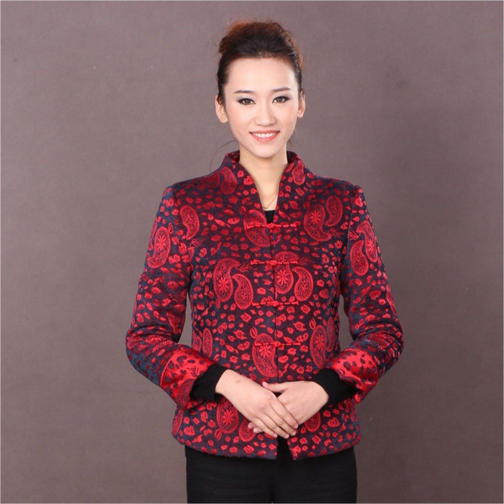 时尚改良中式唐装外套女款唐装上衣民族风古典8图片