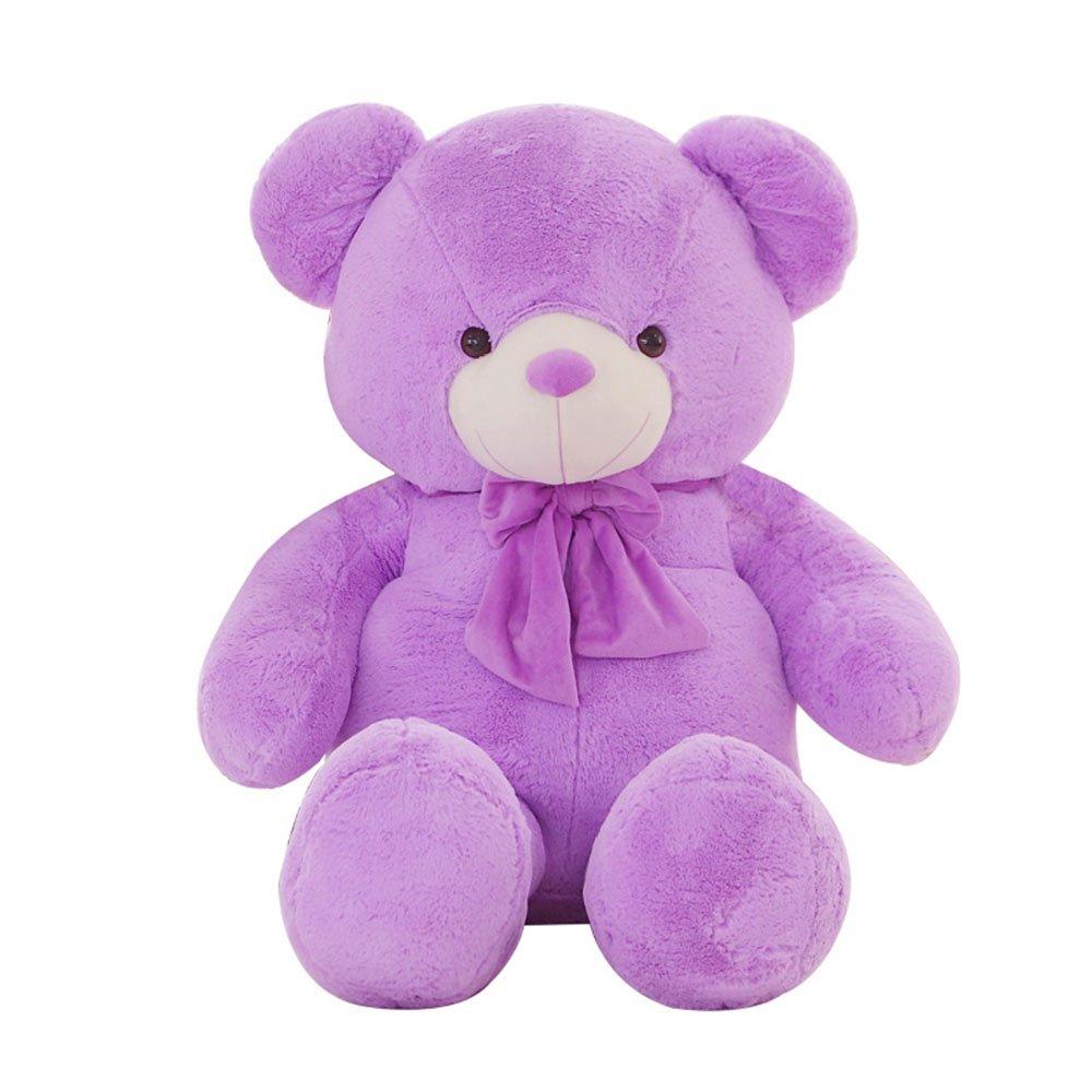 萌吉monqi 薰衣草毛绒玩具小熊 泰迪熊布娃娃生日礼物 可爱薰衣草小熊