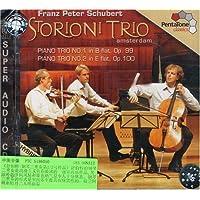 进口CD 舒伯特:钢琴三重奏第1、2号作品