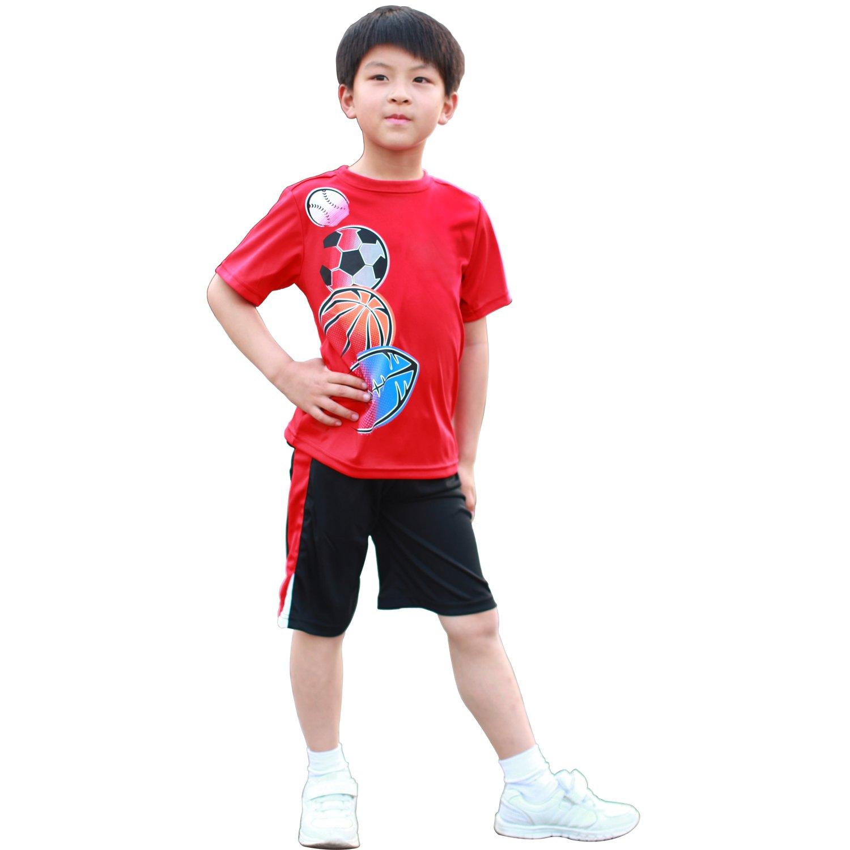 男童夏装套装 儿童 服装 小孩 衣服 运动装 韩版 韩国