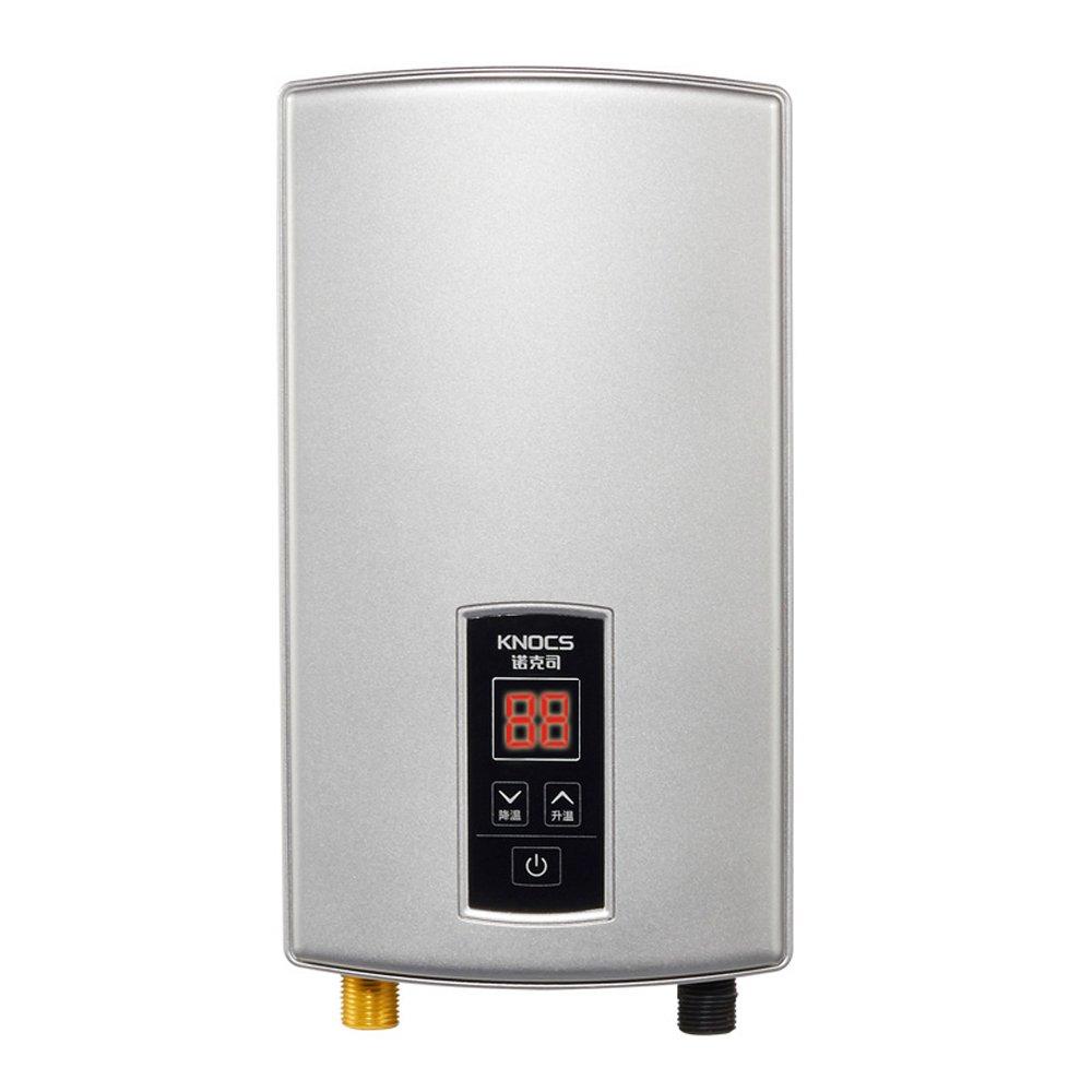 knocs 诺克司 dst-f-s210w 8500w即热式电热水器淋浴厨房两用【全国图片