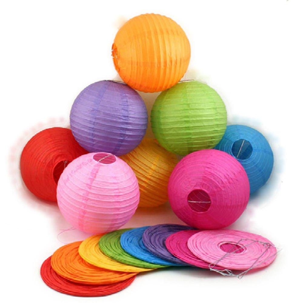 七色花 幼教 幼儿园 diy 手工 美术 创意 制作 材料 彩色 灯笼 20002