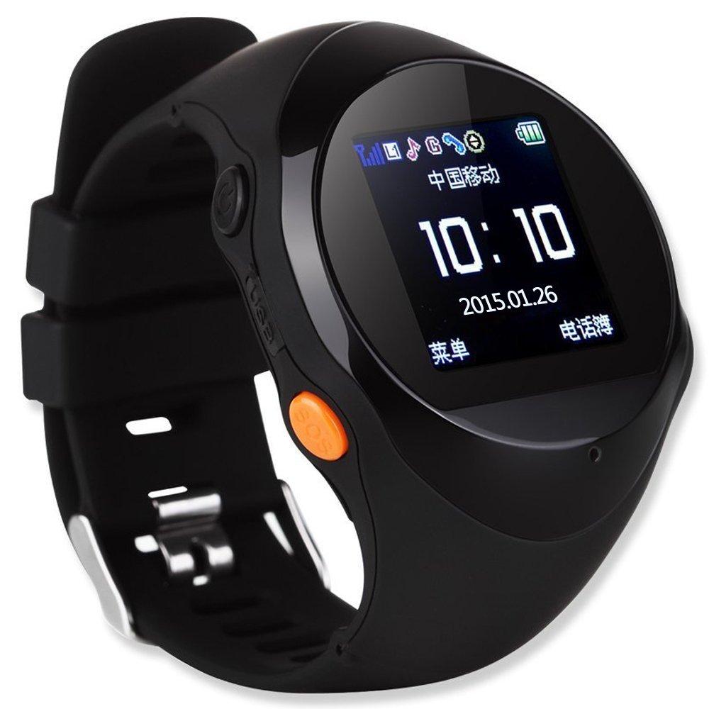 smr zgpax 2015年新款智能手表手机可插卡 gps定位手表 老人 儿童gps