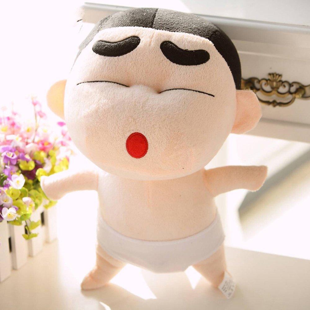 米朵 蜡笔小新公仔大号可爱抱枕毛绒玩具创意生日礼物