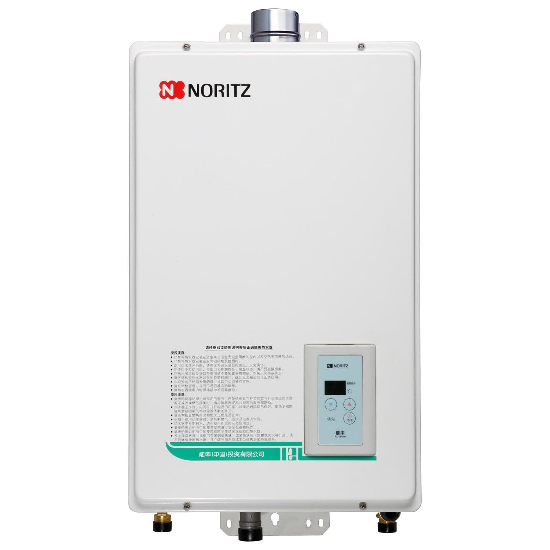 NORITZ 能率 GQ-1380FEX 智能恒温燃气热水器(13升,防冻机型)