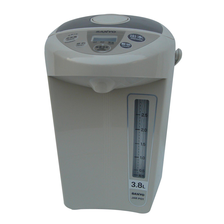8l微电脑预约 三档保温防附着内胆电热水瓶图片