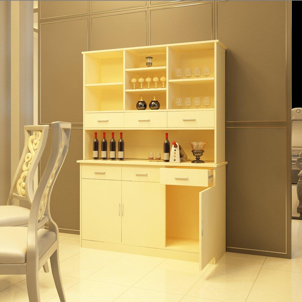 【东彩】家具简约现代环保板式餐厅家具酒柜多功能储物柜现生产可定制图片