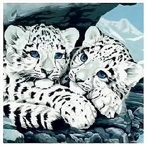 画样年华数字油画; 手工diy画/数字油画/数码画/装饰画画样年华动物小
