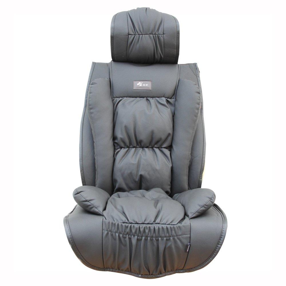 汽车坐垫 冬季新款四季通用座垫 加厚车垫别克君越 君威 英朗gt (黑色