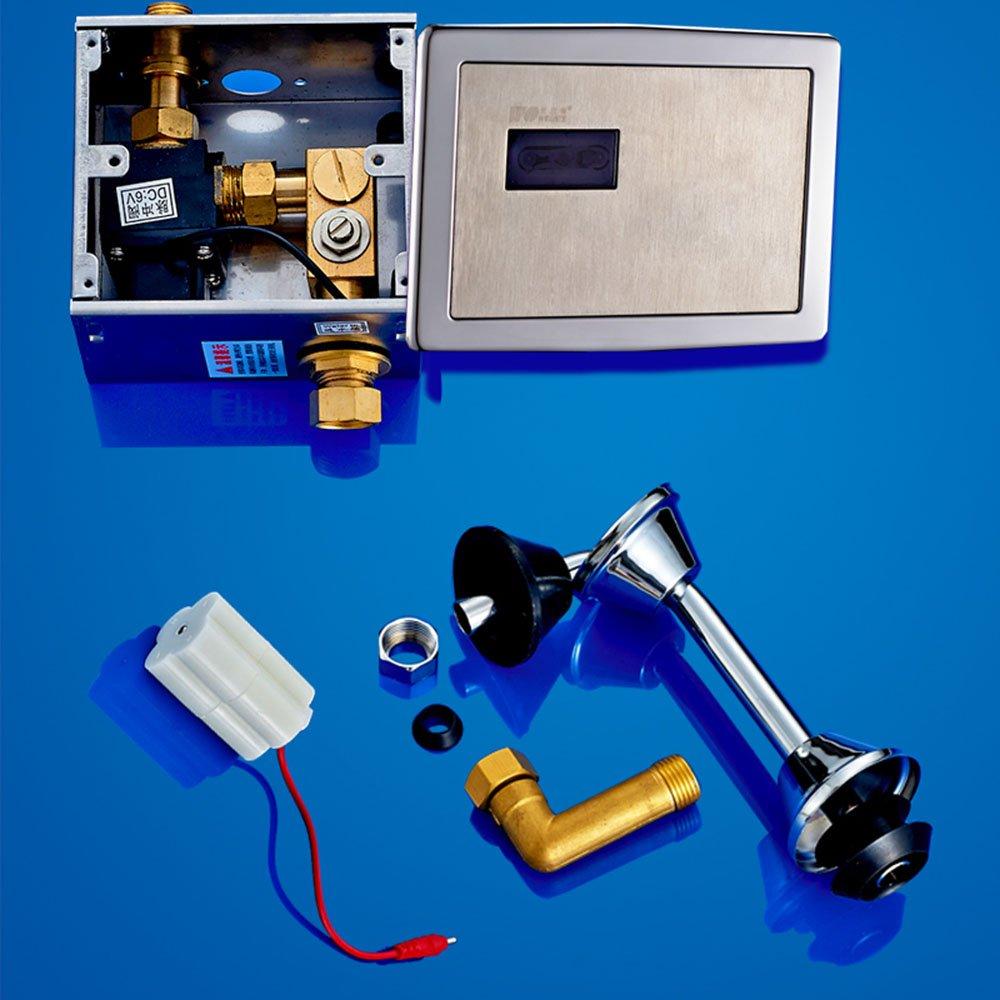 沃新特 暗装小便器 全自动感应小便器 小便斗小便池 冲水器小便冲水阀