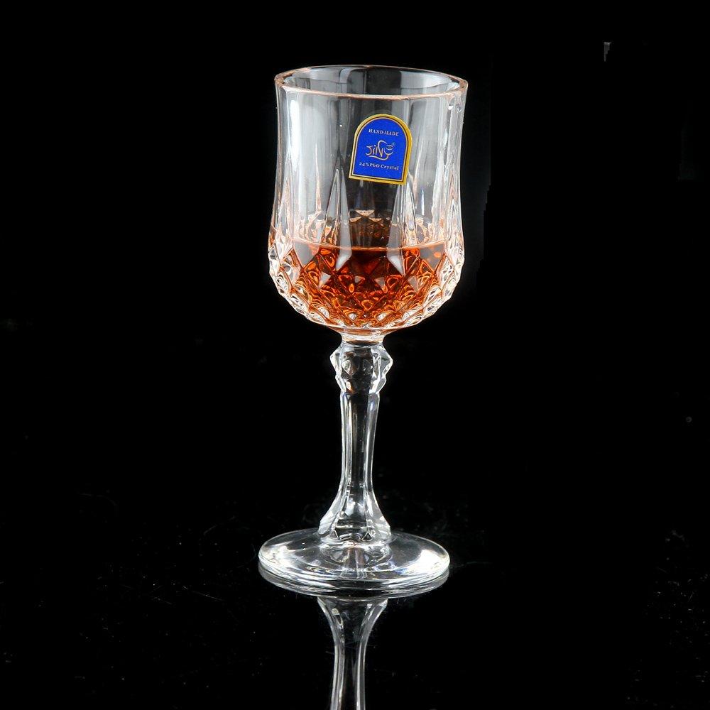 美鹰 水晶玻璃红酒杯高脚杯钻石高脚杯高档酒具葡萄红