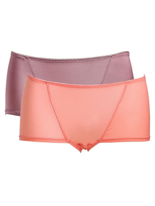 尼特名 2条装 柔软顺滑舒适健康中腰平角内裤M12L 【尼特名】 服饰箱包