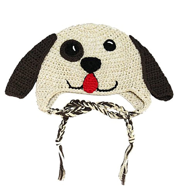 婴儿帽子秋冬季 男女宝宝婴儿手钩帽子 秋冬保暖帽子