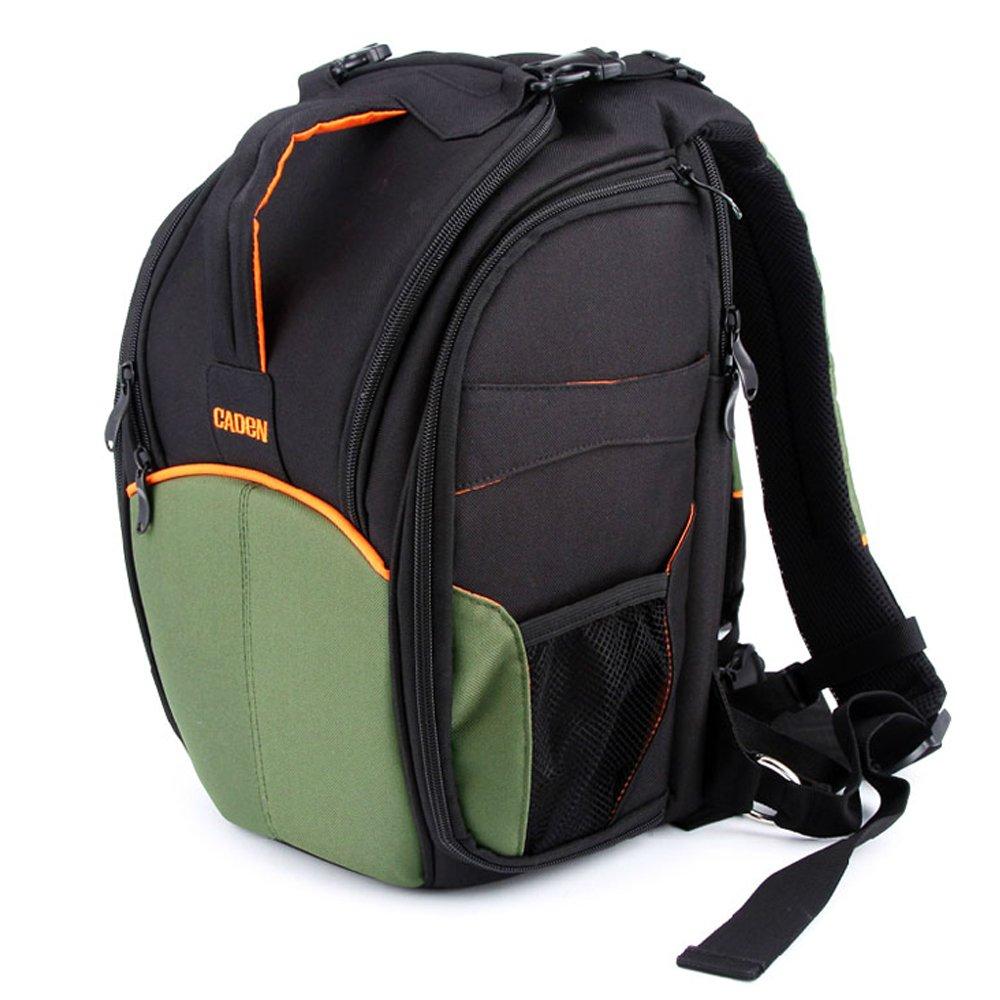 caden 卡登 快客系列 专业 防盗 单反相机包 双肩摄影包 适用于佳能