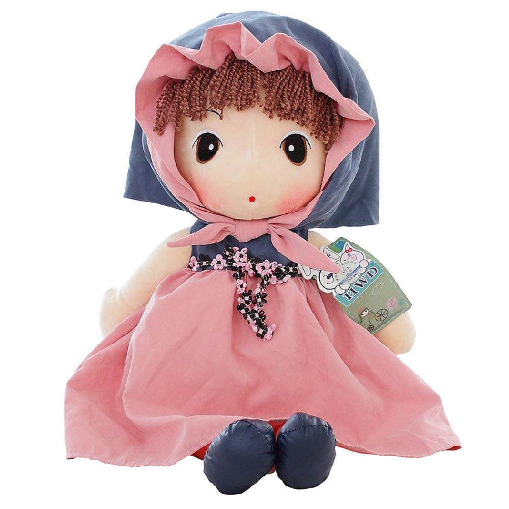 百麒优品 情人节礼物 可爱卡通 菲儿布娃娃系列 粉色童话菲儿 毛绒