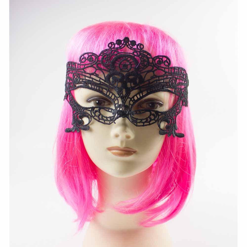 年会化妆舞会面具蕾丝不定型女王面具