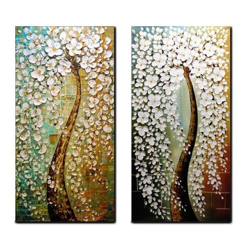 回至 玄关油画竖版 手绘厚油画发财树竖幅玄关装饰画 竖版 抽象油画