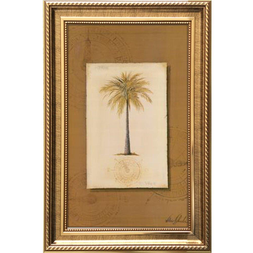 欧式有框沙发背景墙壁挂画简约墙画 独树一帜 50*65 金色框 独树一帜c