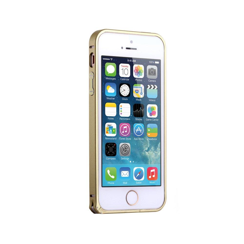cr 苹果5手机边框iphone5s手机壳 iphone5金属边框 5s
