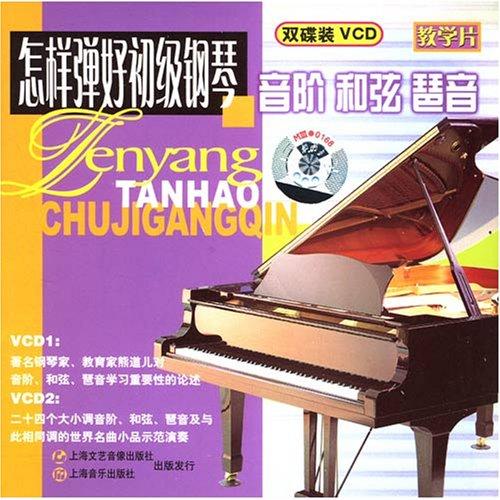 怎样弹好初级钢琴音阶和弦琵音 2VCD