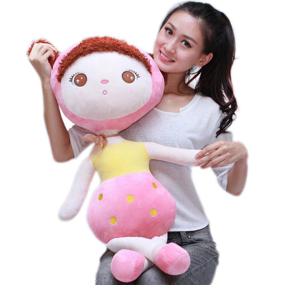 鸭小贱 安吉拉毛绒玩具布娃娃 毛线洋娃娃公仔 韩版小